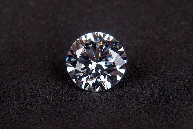 What are synthetic diamonds?
