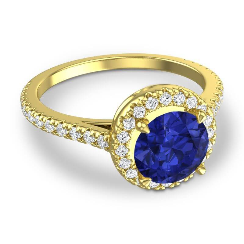 BlueSapphire ring