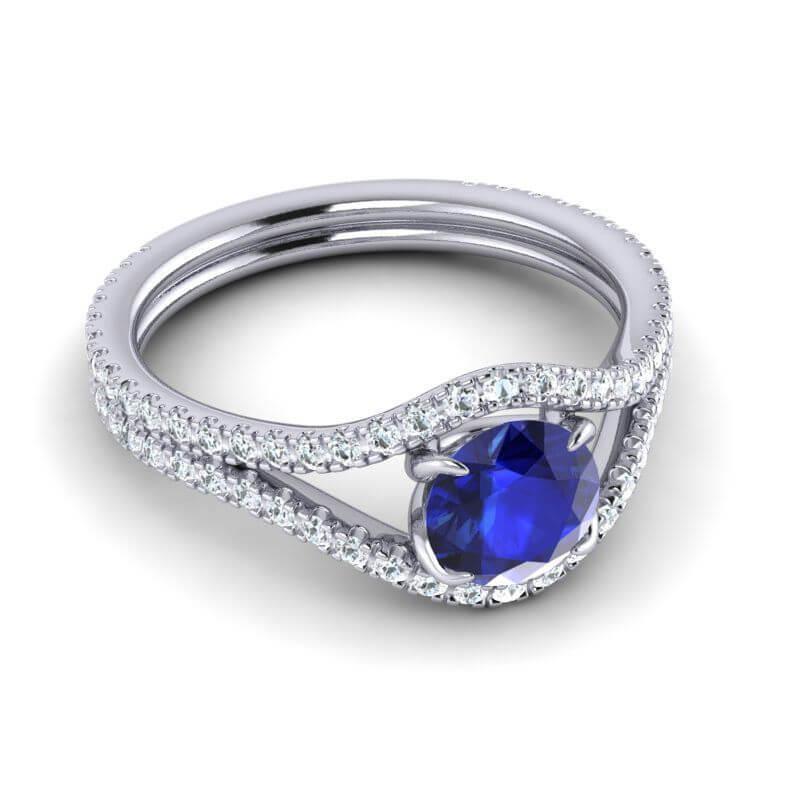 BlueSapphire-ring
