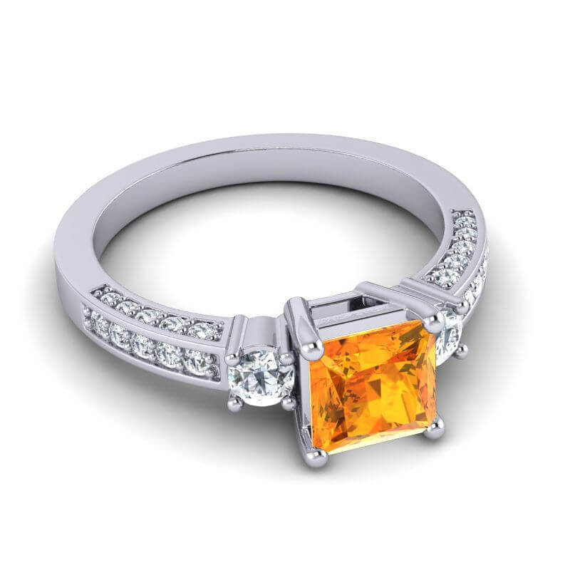 Citrine_Diamond_ring