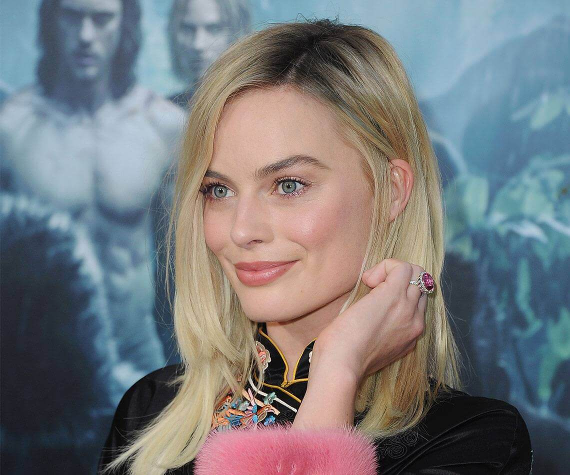 Margot Robbie Celebrity Engagement Ring