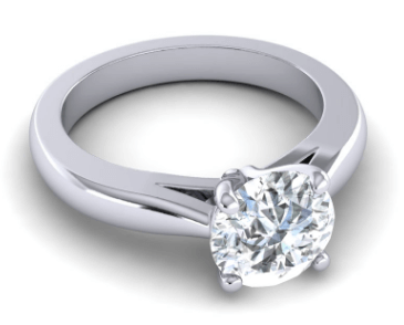 Solitaire Arada Custom Engagement Ring