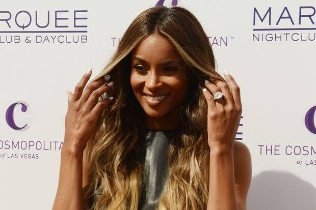 Ciara Celebrity Engagement Ring