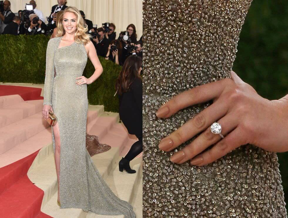 Kate Upton Celebrity Engagement Ring