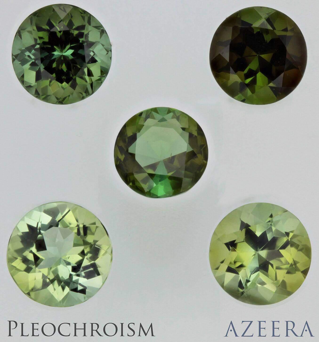 greentourmaline pleochroism