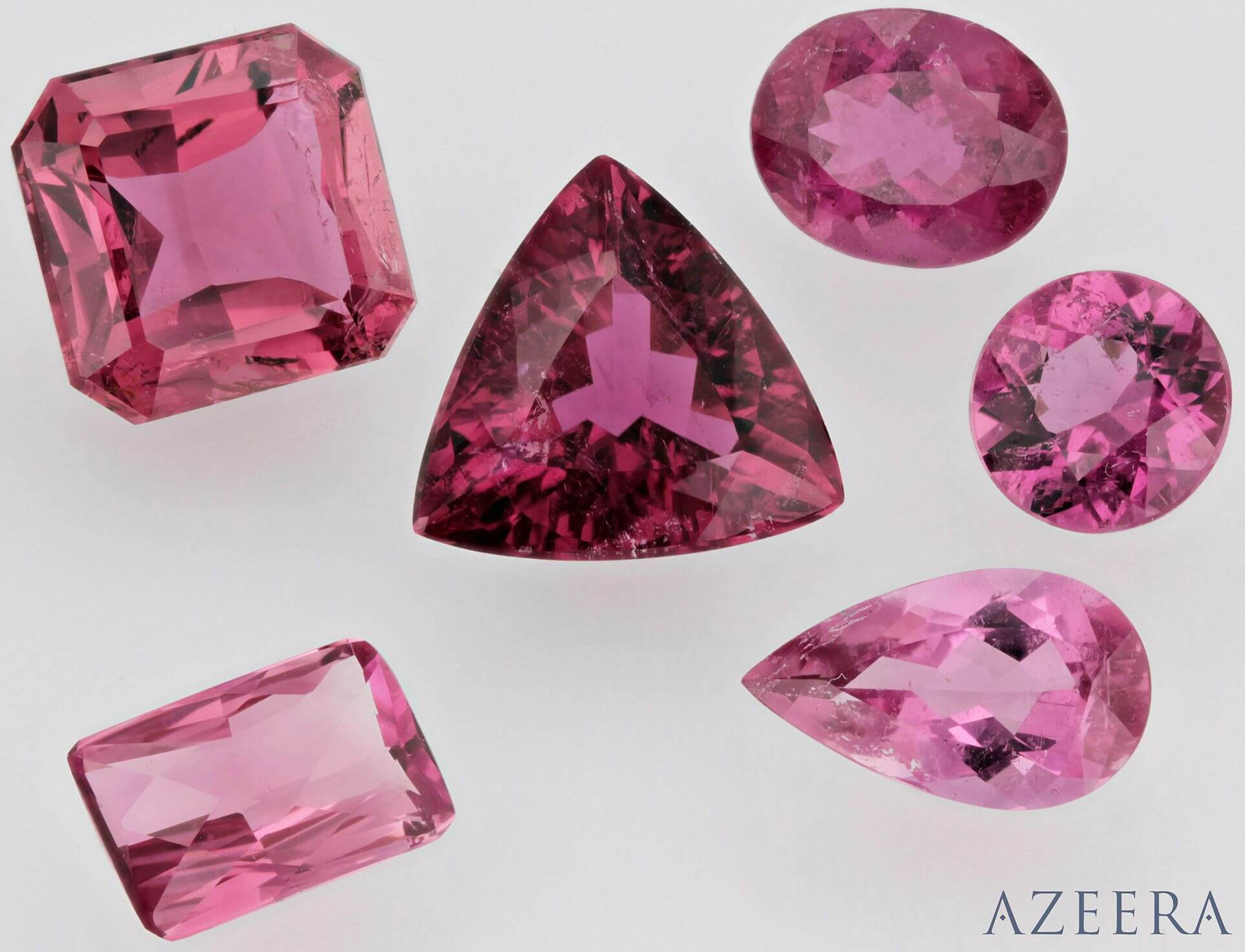 pink tourmaline group