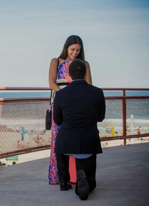 Cristina Steven Engagement, Orrnate Halo Pave Rajata Ring